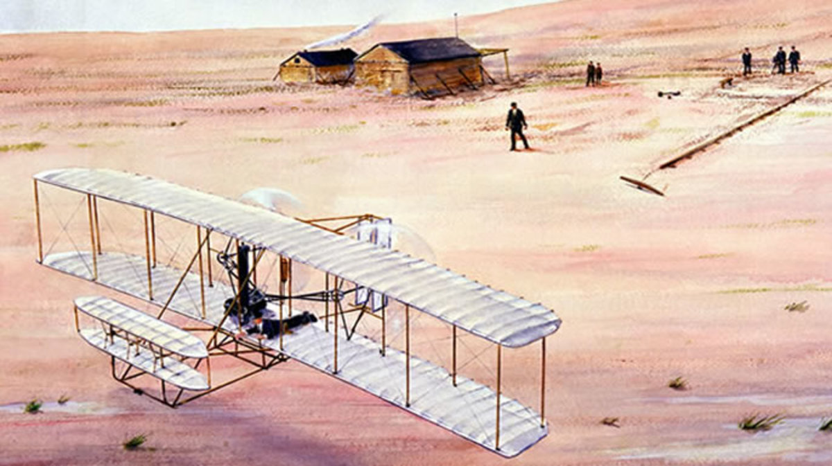 what year did the wright brothers fly