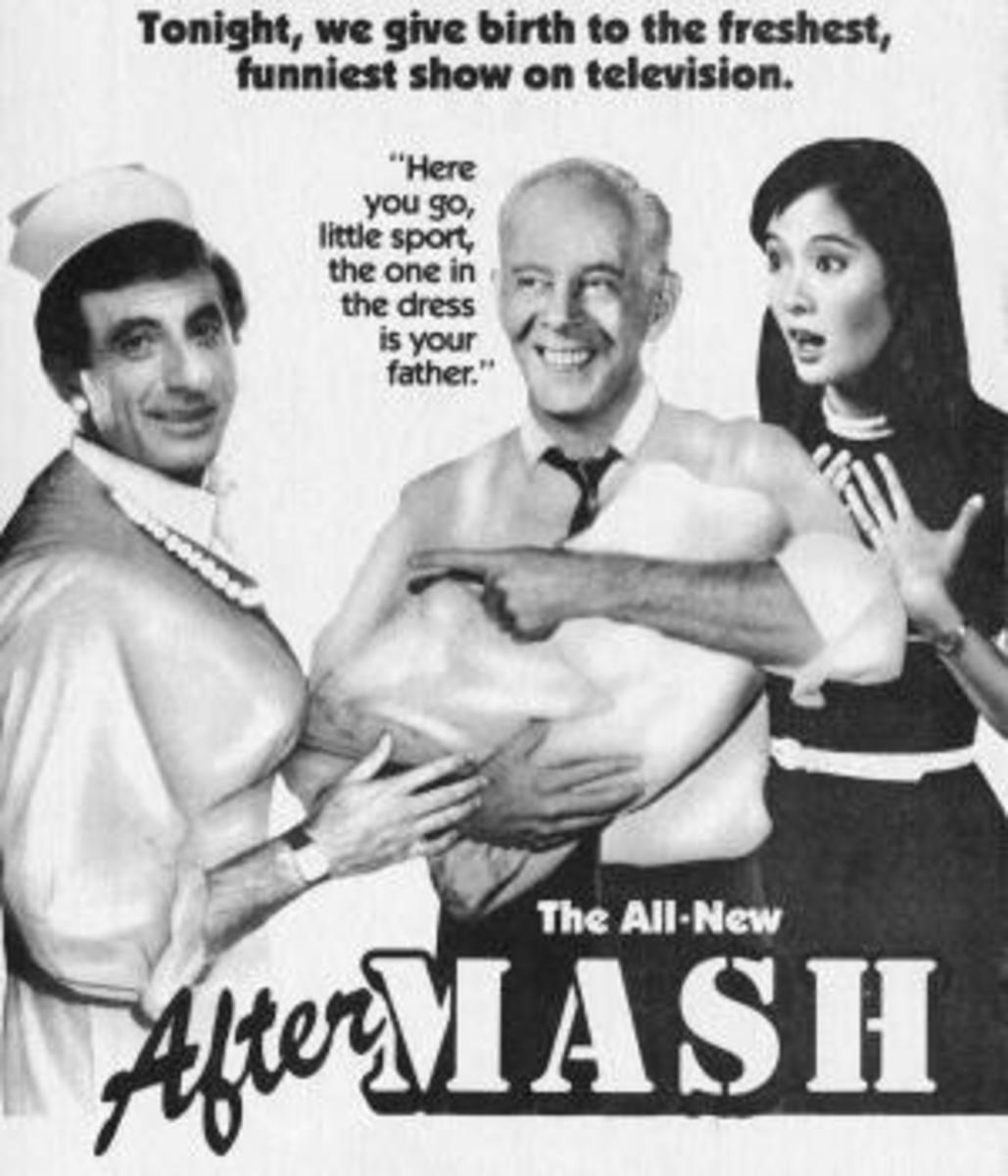 """CBS Television advertisement for the 1984 premiere of """"AfterMASH."""""""
