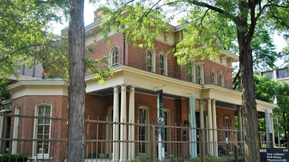 The Jane Addams' Hull House Museum. (Credit: Elisa Roller/Wikimedia Commons/ CC BY-SA 4.0)