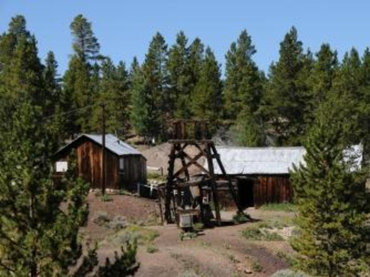 The Matchless Mine in Leadville, Colorado. (Credit: Brian Hartshorn/Alamy Stock Photo)