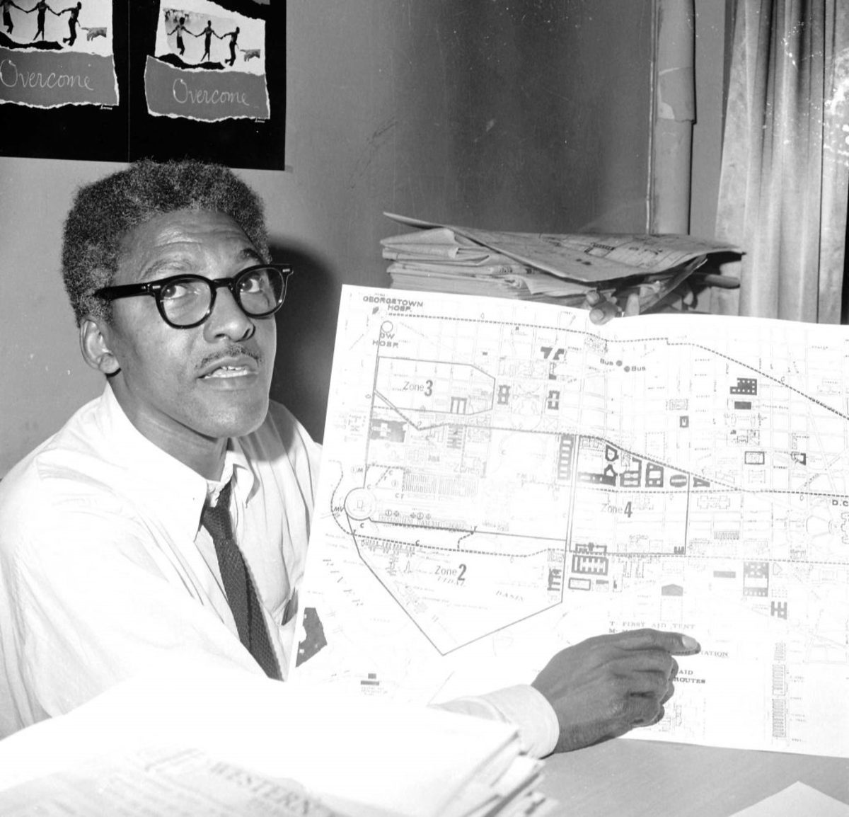 Bayard Rustin- March on Washington