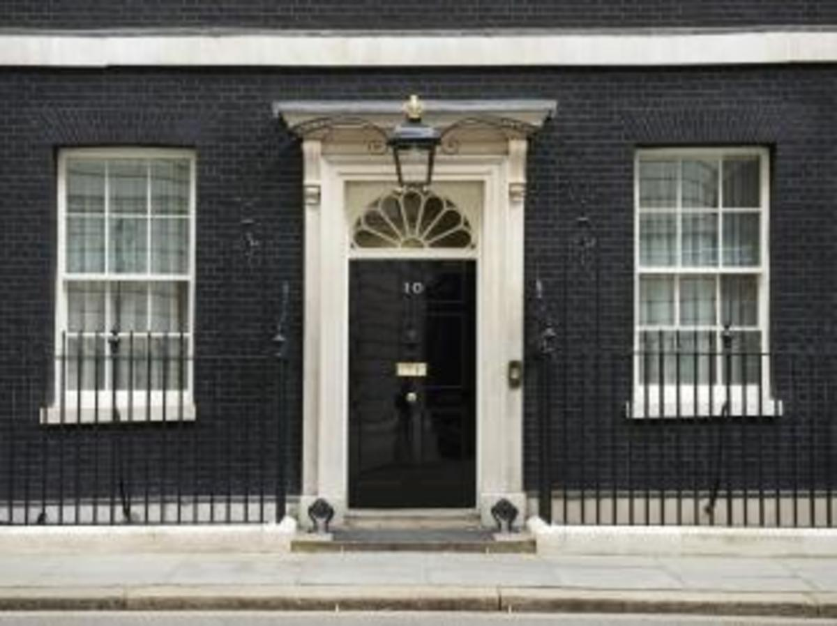 10 Downing Street, London.