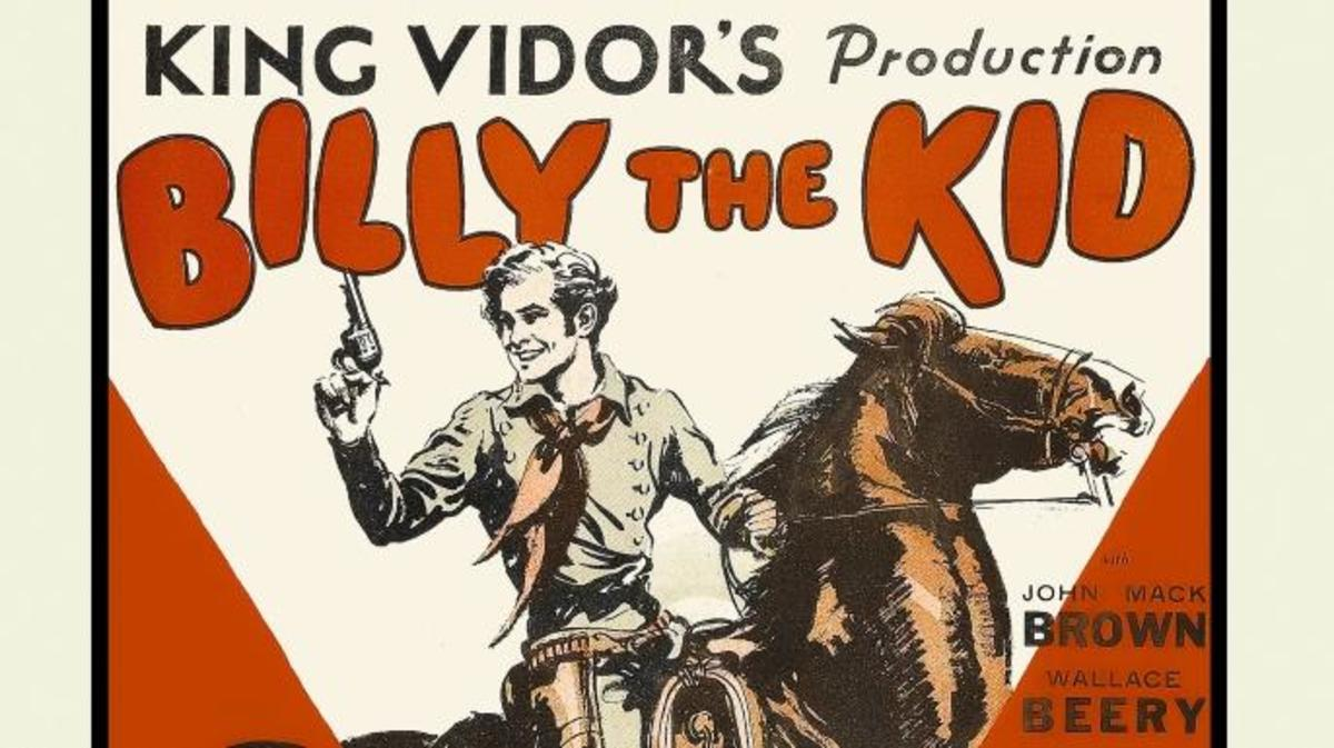 "Movie poster for a 1925 ""Billy the Kid"" film. (Credit: Buyenlarge/Getty Images)"