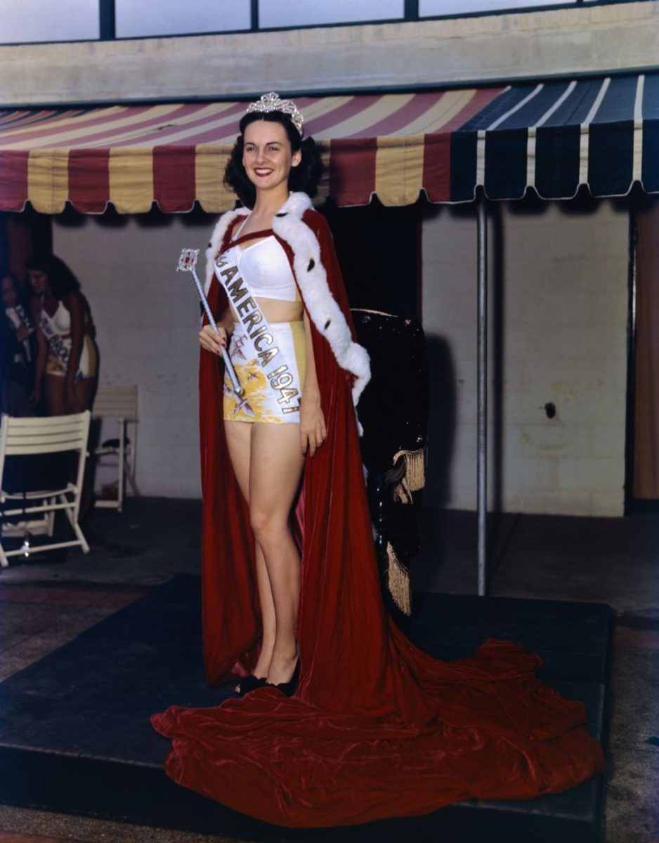 Barbara Jo Walker Miss America 1947