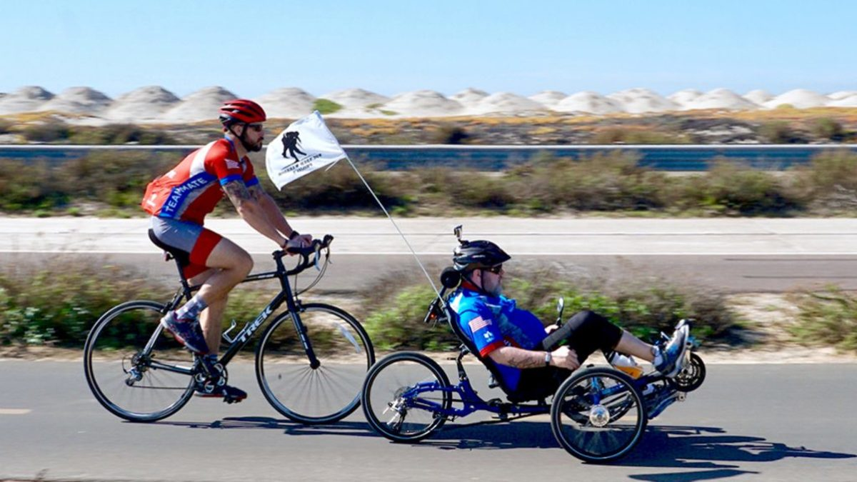 The Soldier Ride in Sad Diego. (Credit: The Wounded Warrior Project)