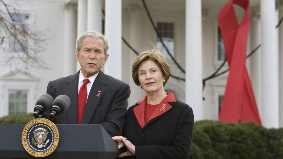 George W Bush World AIDS Day