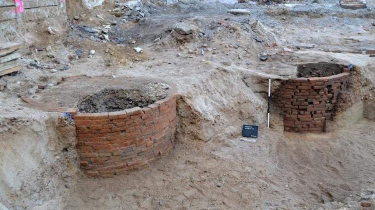museum of american revolution, archaeology, excavation site