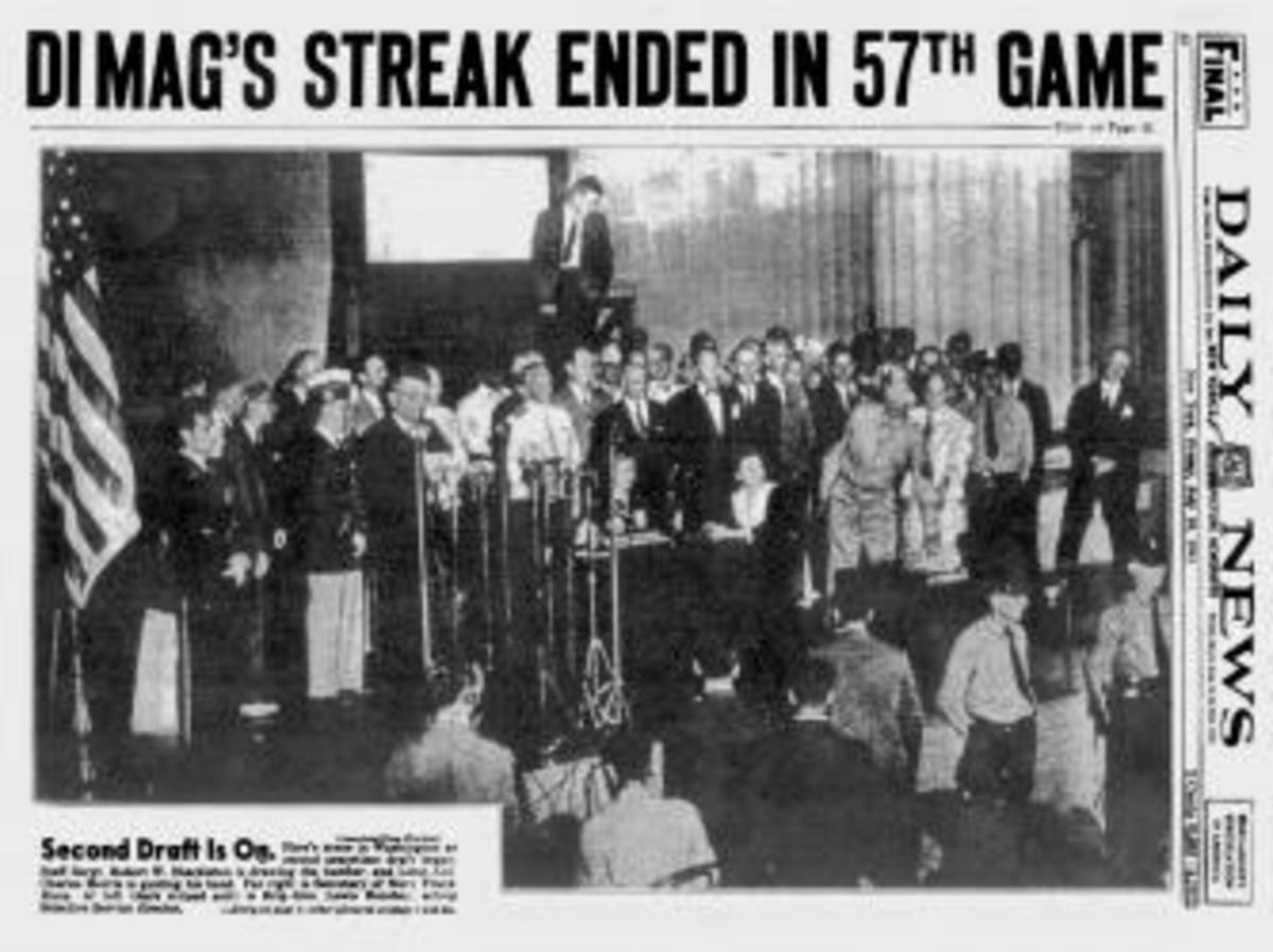July 18, 1941 NY Daily News front page announcing the end of the streak. (Credit: NY Daily News Archive via Getty Images)