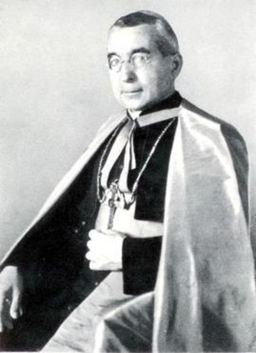 Bishop Alois Hudal