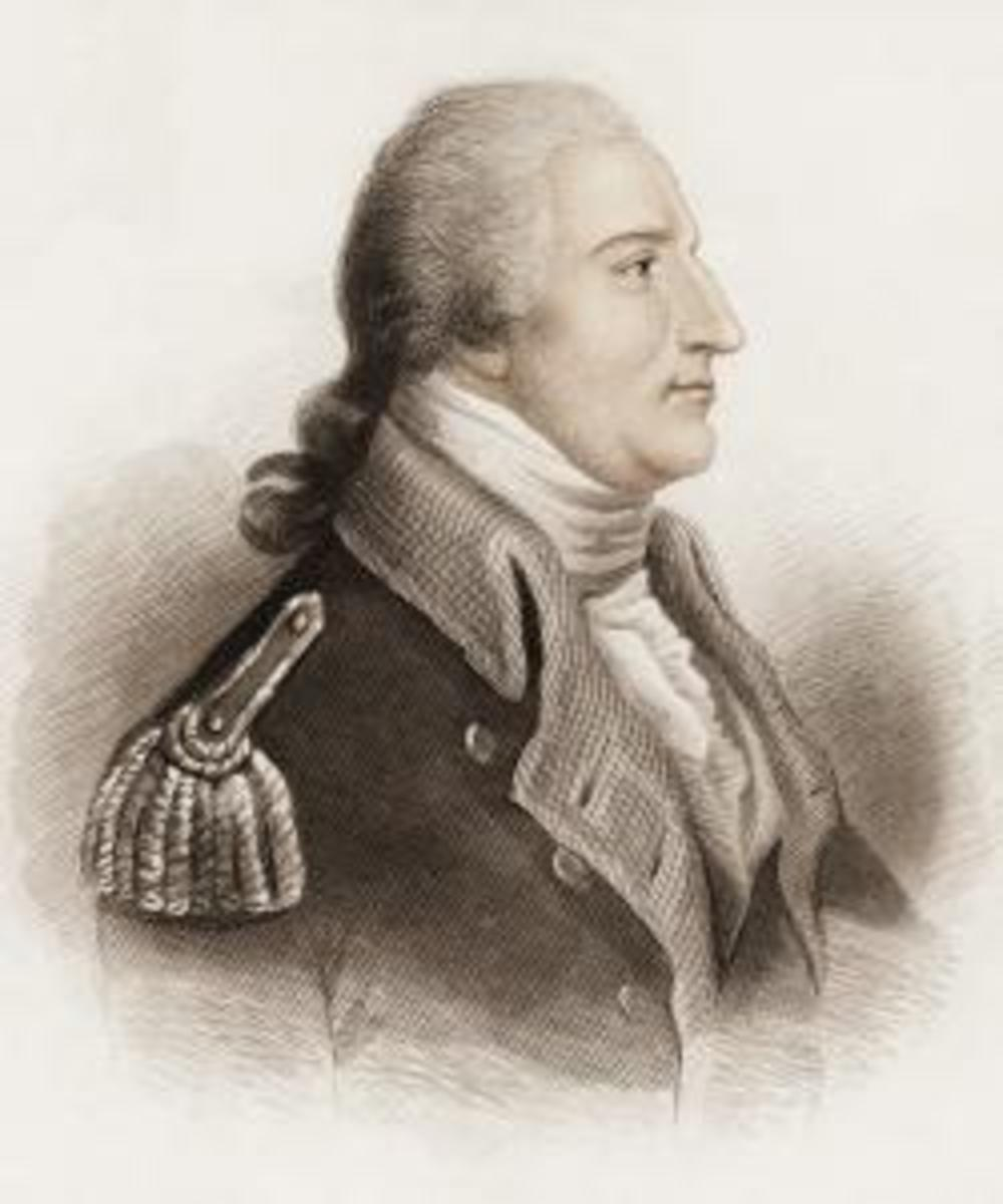 Portrait of Benedict Arnold. (Credit: Getty Images)