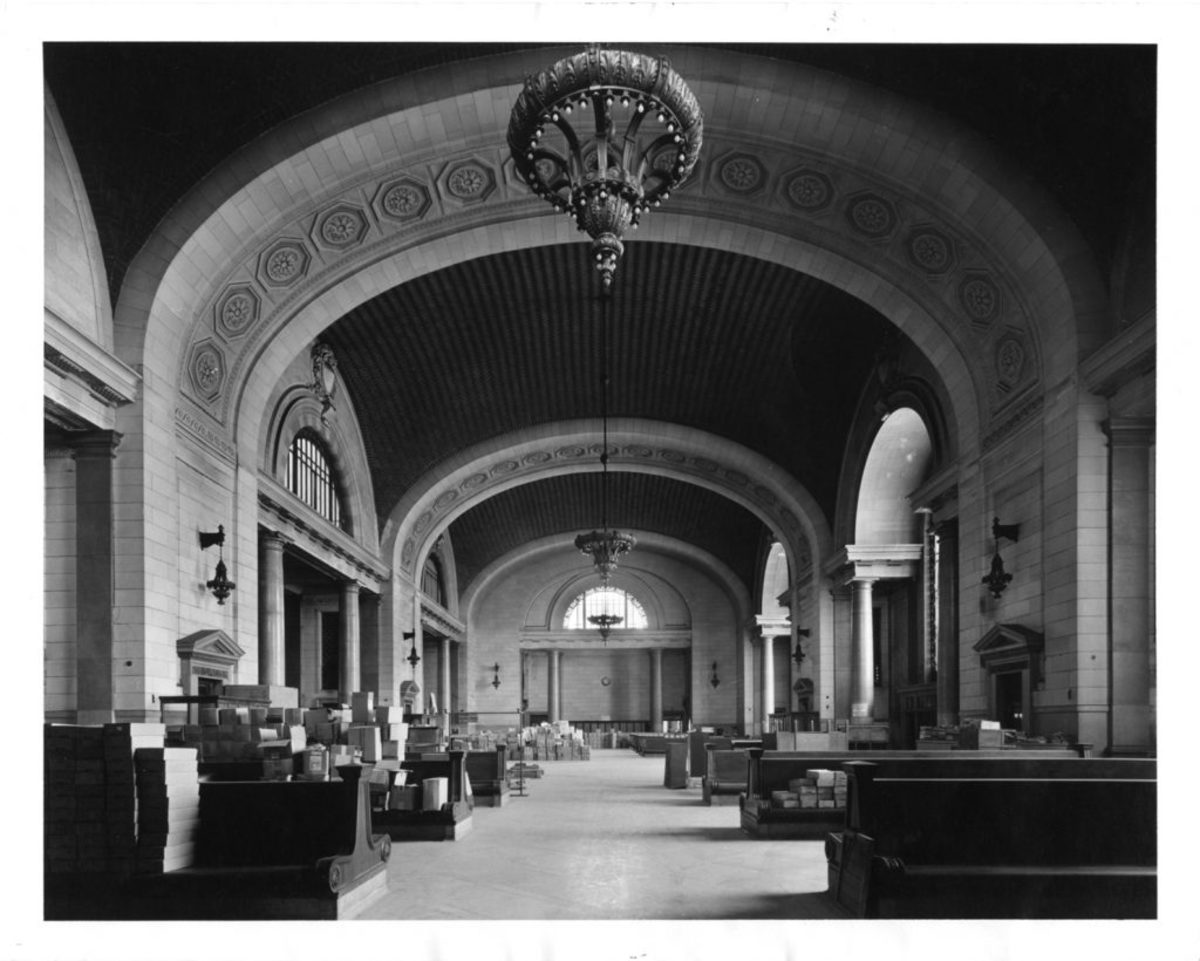 The Michigan Central Train Station