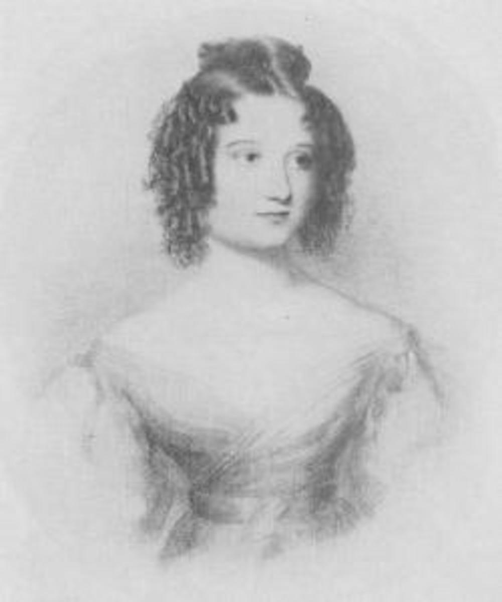 Ada Lovelace at age 17.