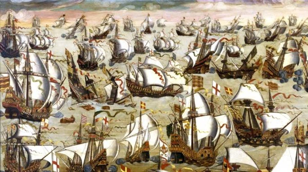 what country defeated the spanish armada
