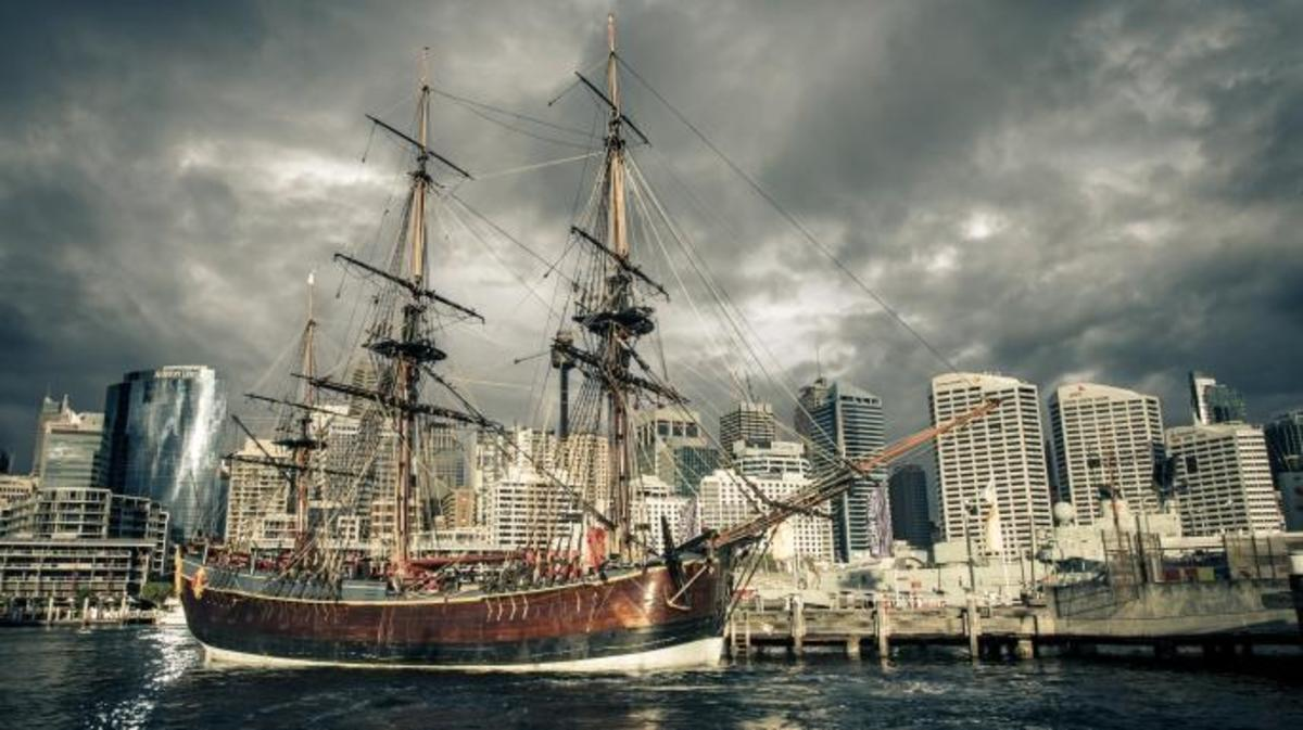 HMS Endeavour, James Cook