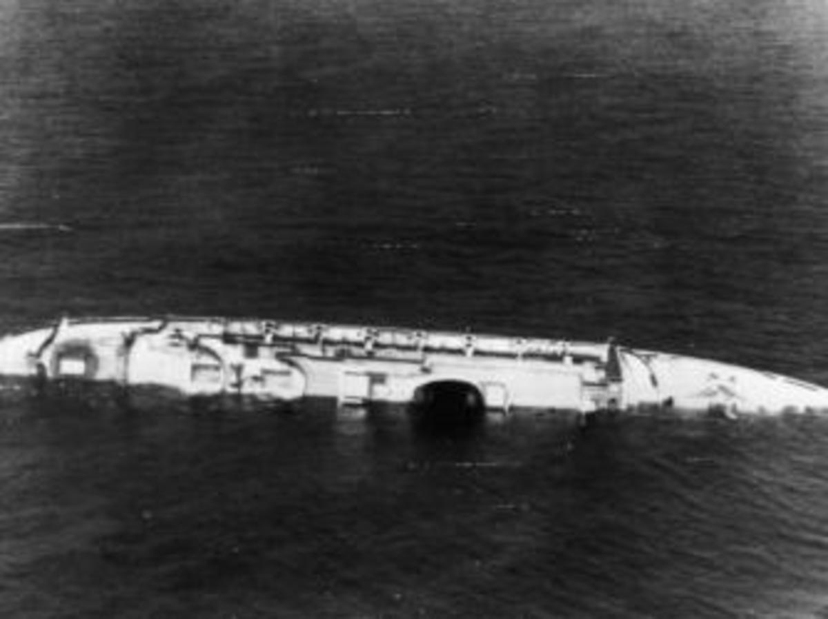 Image result for sinking of the andrea doria
