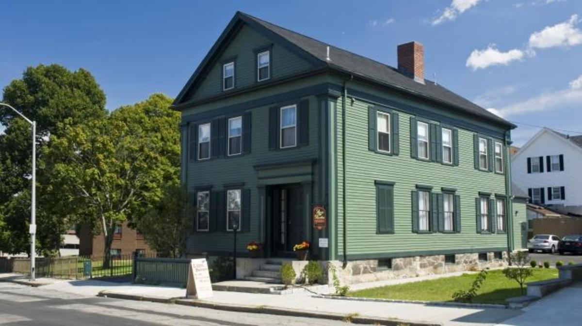 The Borden family home in Fall River, Massachusetts, now a bed & breakfast., Lizzie Borden