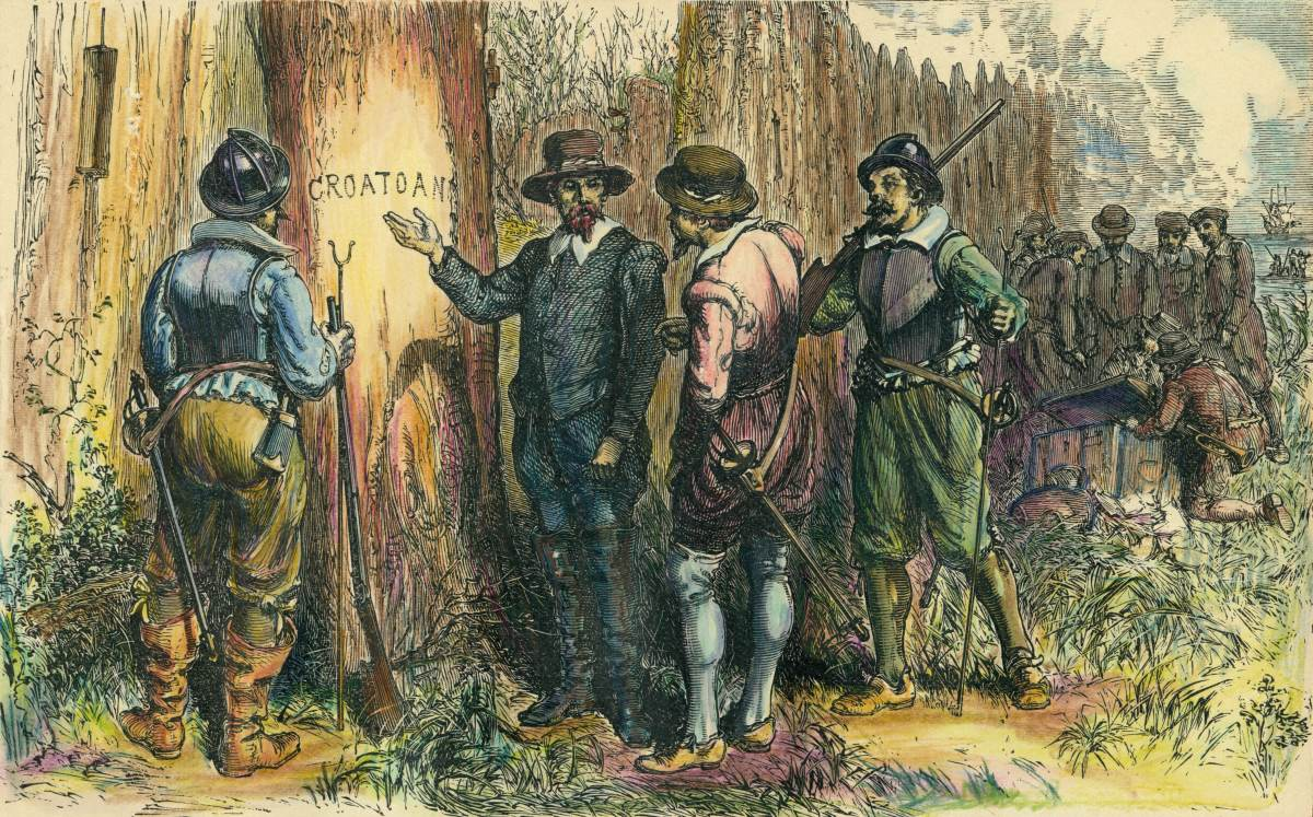 Image result for lost colony of roanoke