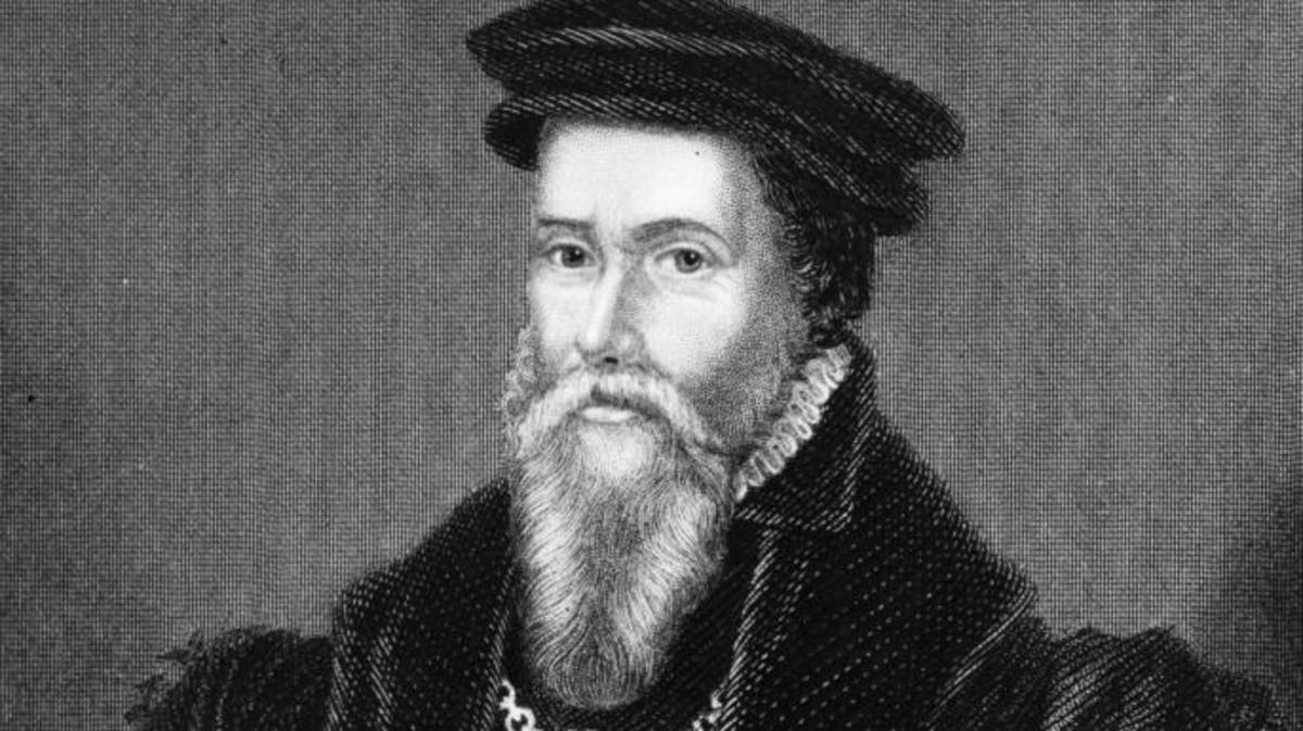 John Caius (1510 - 1573), British physician and scholar, circa 1560. (Credit: Hulton Archive/Getty Images)
