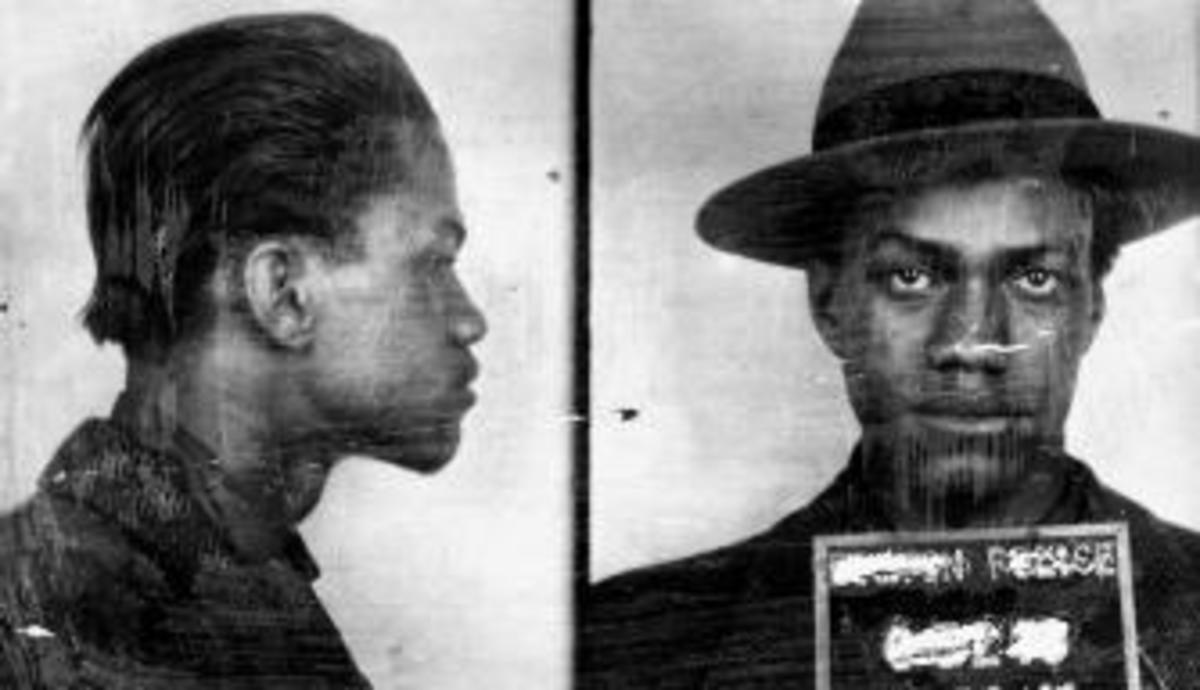 1944 police mug shot of Malcolm X, then known as Malcolm Little. (Credit: Time Life Pictures/Timepix/The LIFE Images Collection/Getty Images
