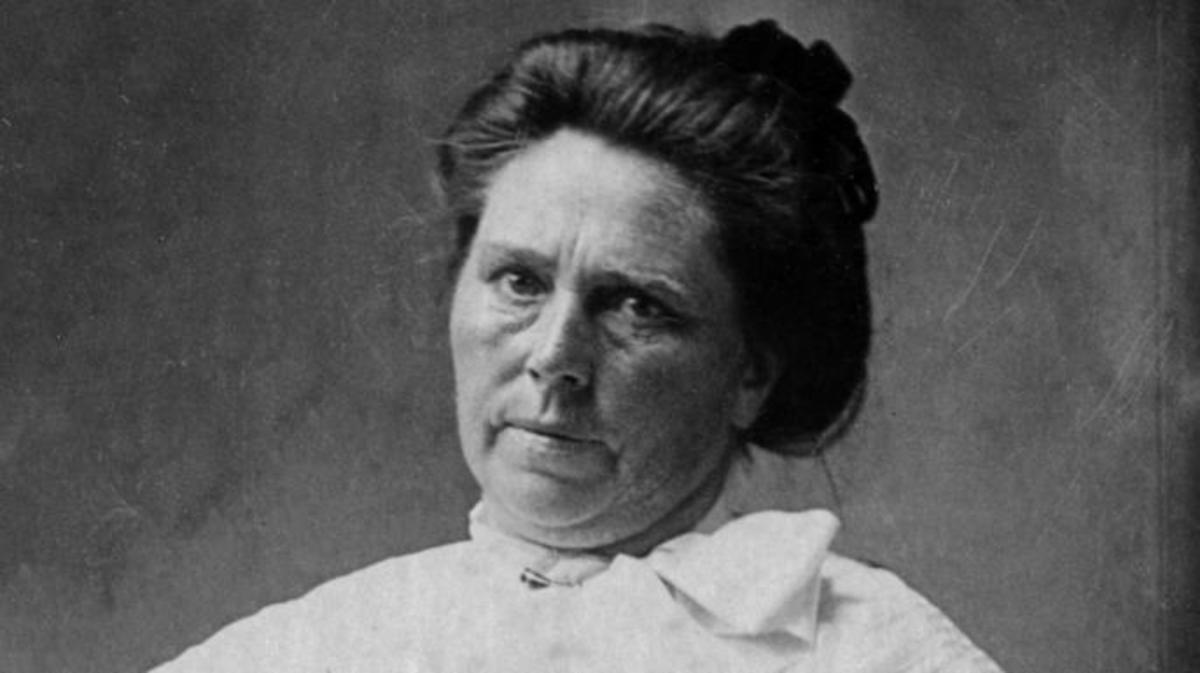 Murderer Belle Gunness who killed up to 15 men for their insurance. (Credit: Bettmann/Getty Images)