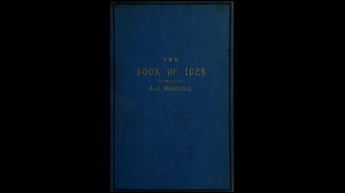 Cookbook by Agnes B Marshall. (Credit: The University of Leeds Library)
