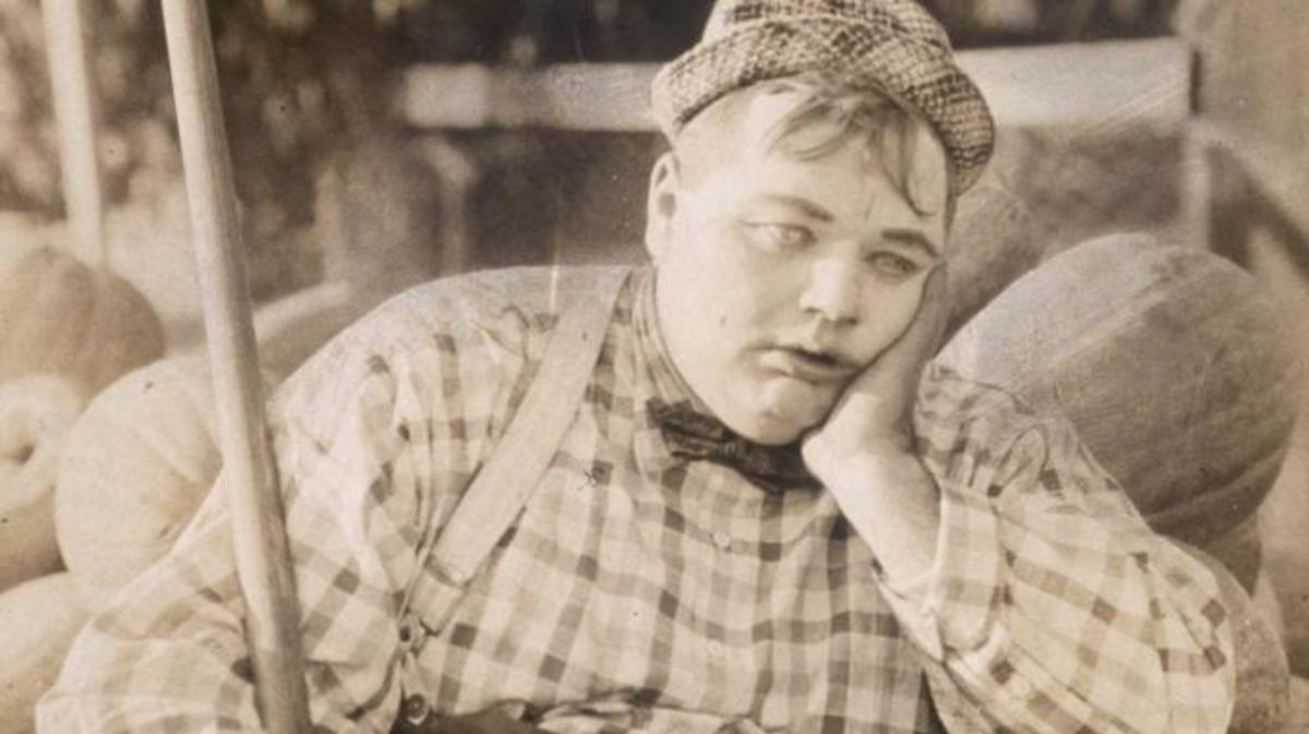 "Roscoe ""Fatty"" Arbuckle (Credit: Hulton Archive/Getty Images)"
