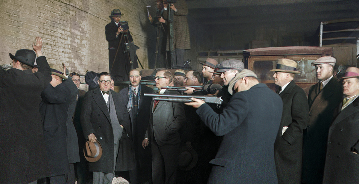 See The St Valentine S Day Massacre Of 1929 In Color History