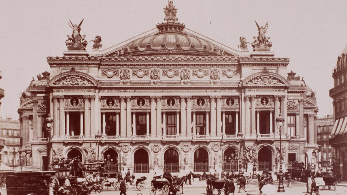 The Paris Opera House in the 19th century. (Credit: Michael Maslan/Corbis/VCG via Getty Images)