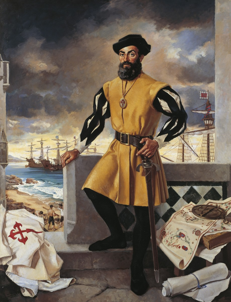 Image result for magellan reaches the pacific