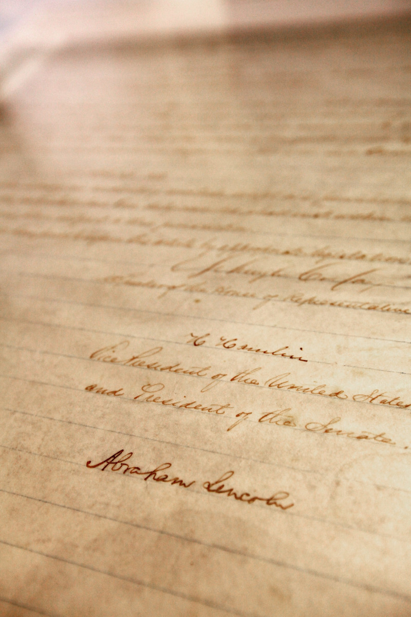 13th amendment - history