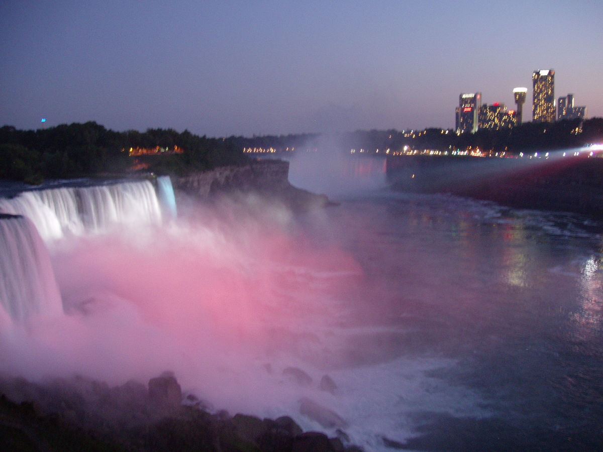 List of objects that have gone over Niagara Falls