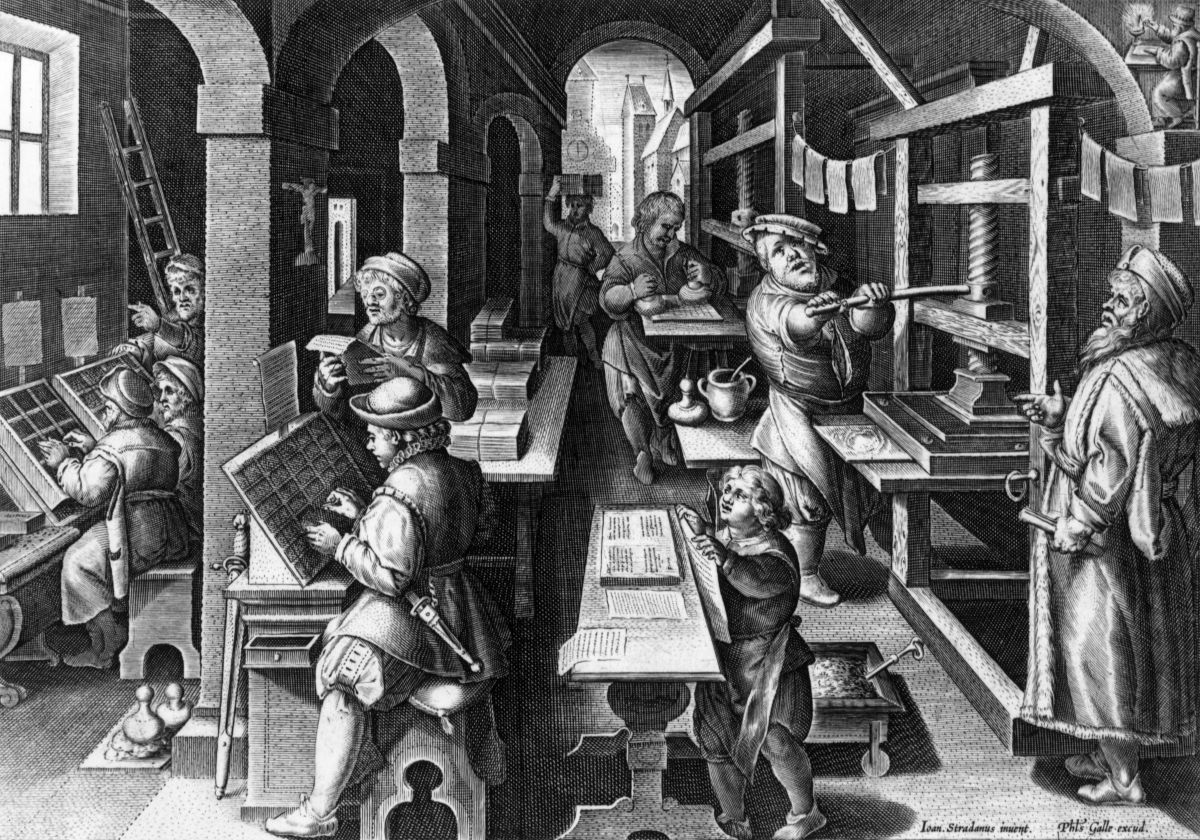 where was the printing press invented