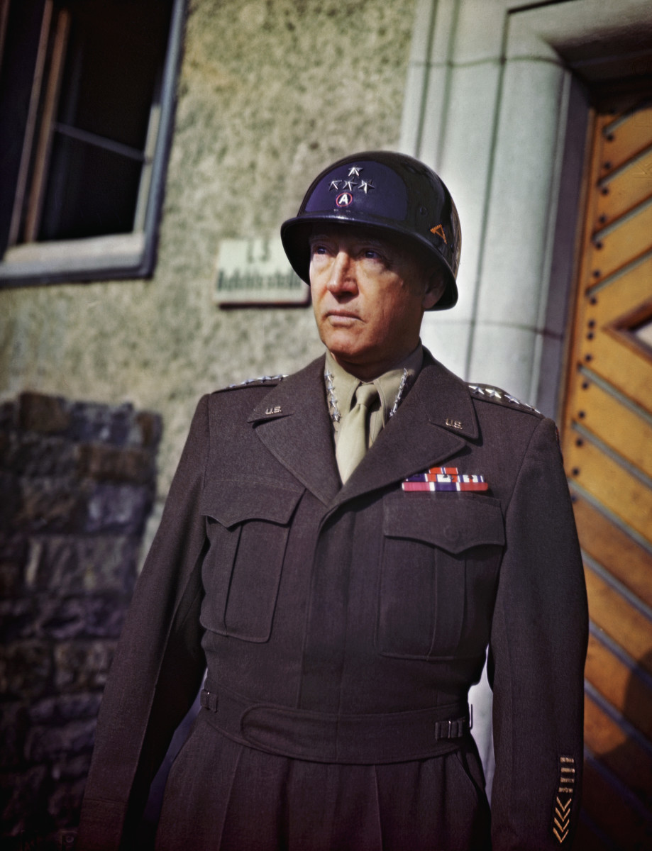 George S Patton Wwii
