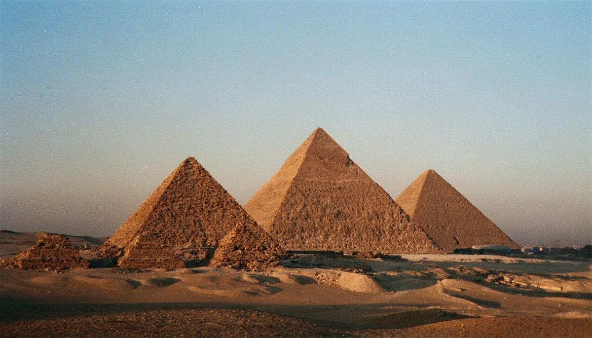 How many pyramids in egypt