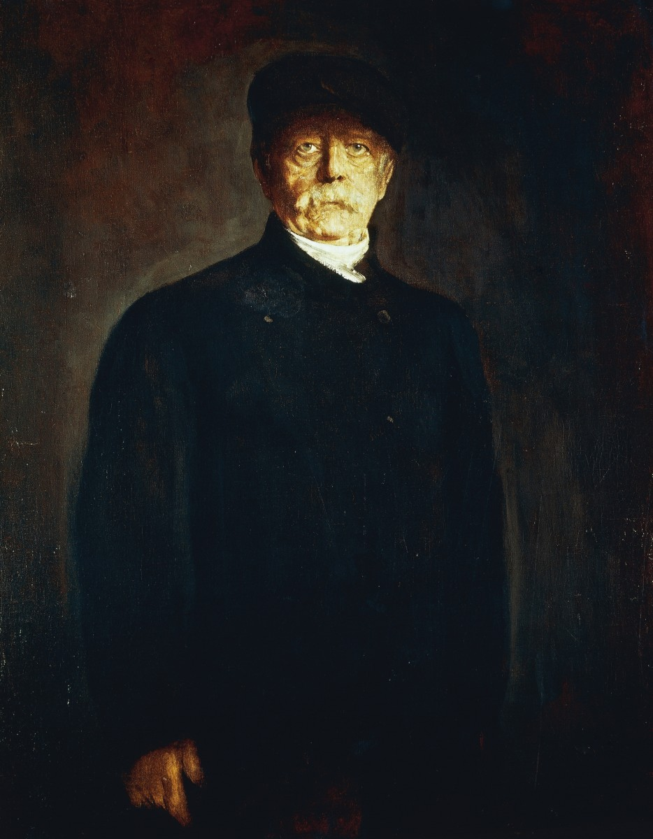State of the Second Reich and its father Otto von Bismarck