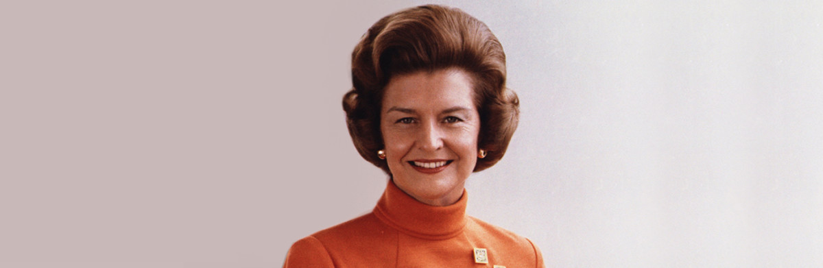 betty ford history
