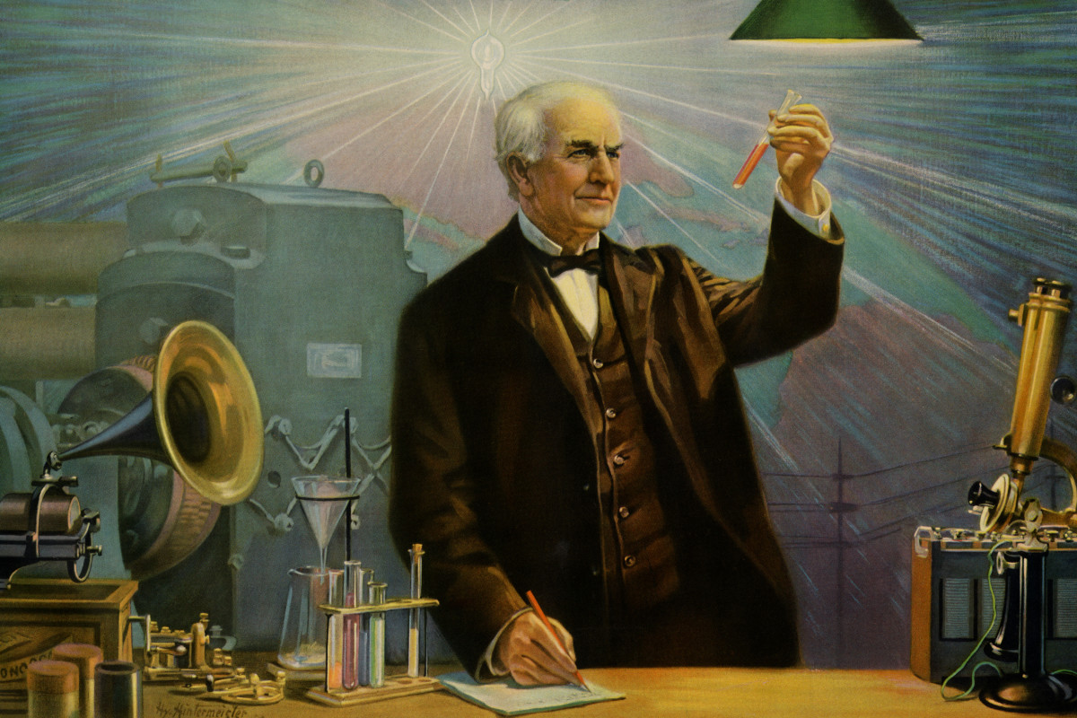 Thomas Edison Inventions Patents Biography History