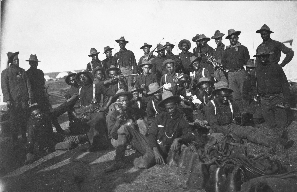93ede633f62 Buffalo Soldiers - HISTORY