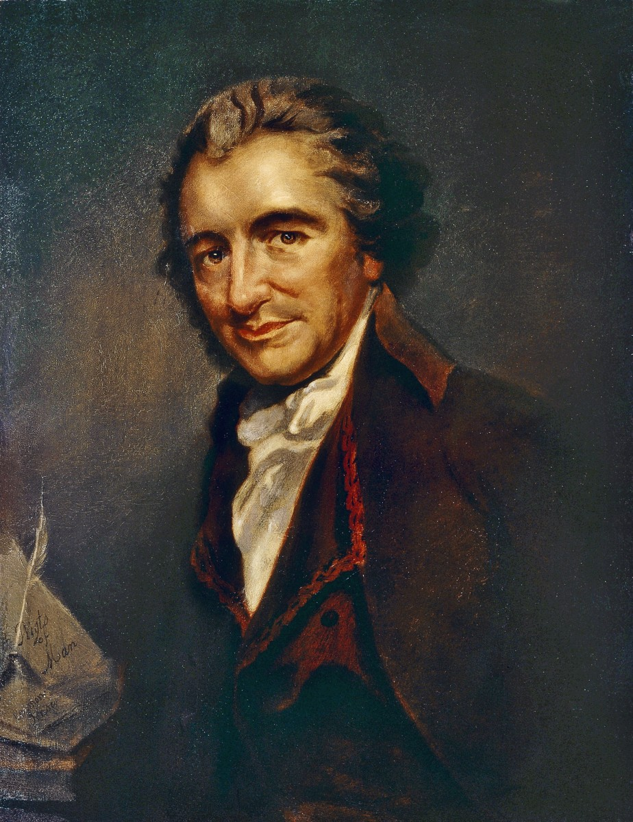 How did thomas paine help the war effort
