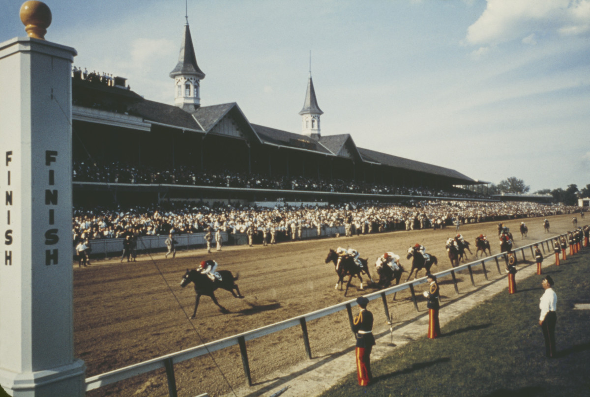Kentucky Derby History Location It Is The Tradition That A Kentuckian Never Runs He Does