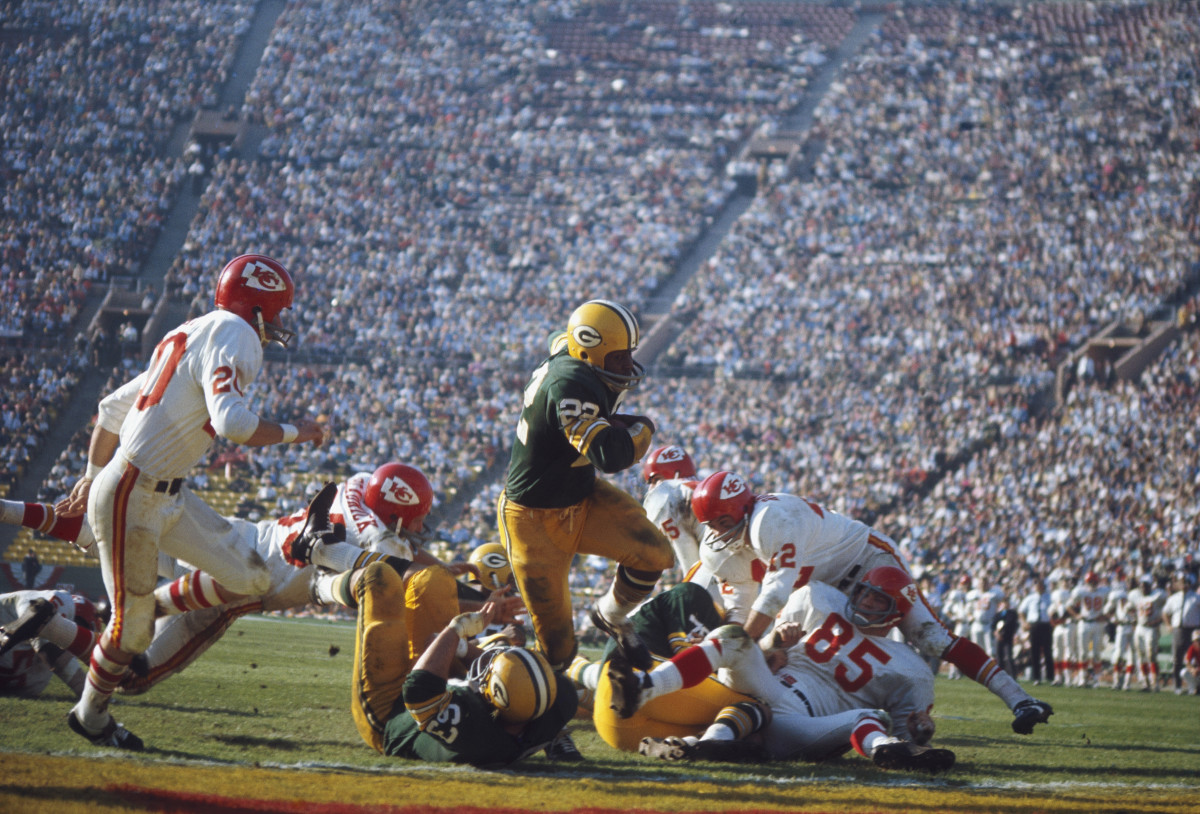 Image result for the first nfl super bowl takes place in 1967