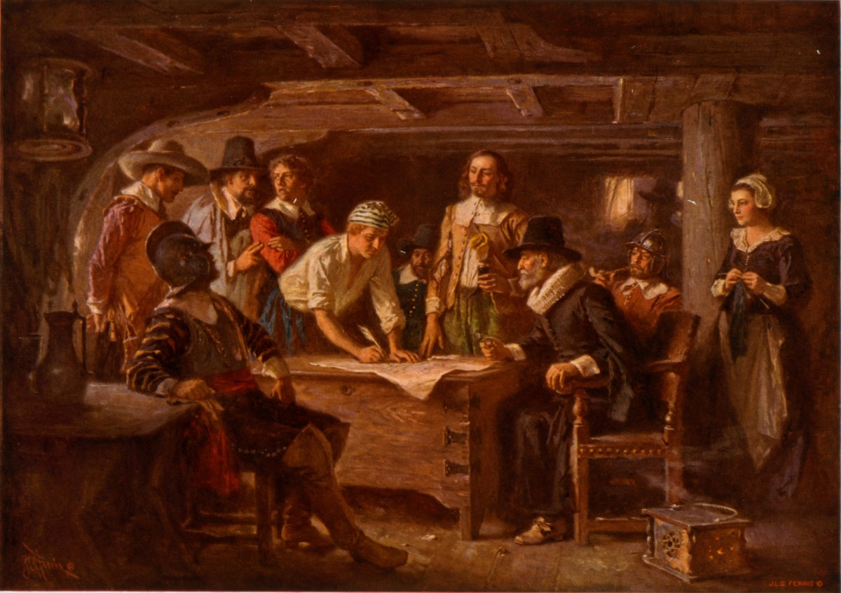 Mayflower Compact  History  Online Letter Writing also Proposal Essay Template  Custom Writing Com