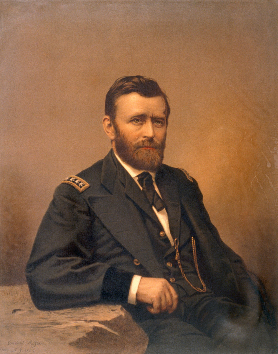 Why Ulysses S. Grant's Wife Always Posed in