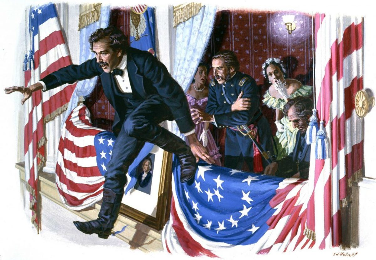 John Wilkes Booth Assassinates Lincoln