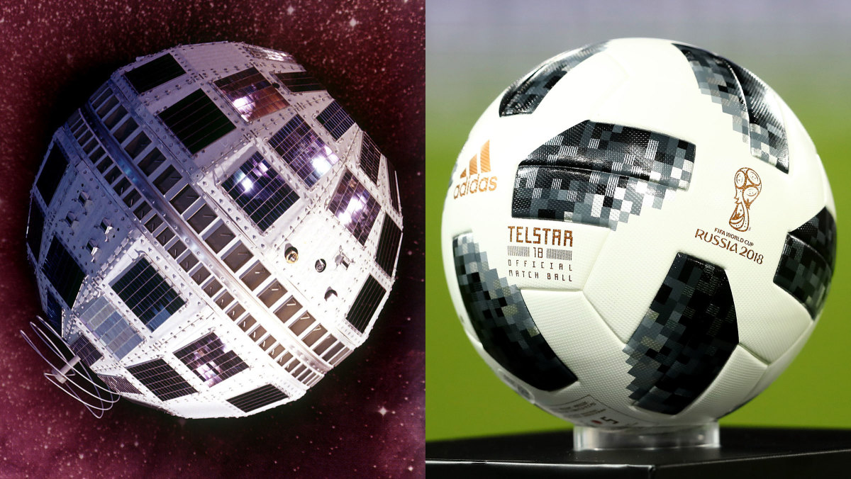 The 2018 World Cup Ball Is Named After A 1960s Satellite History