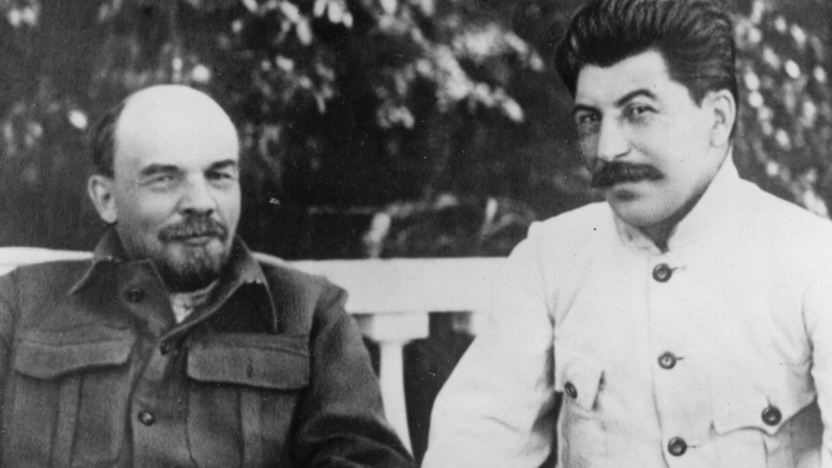 lenin and stalin relationship