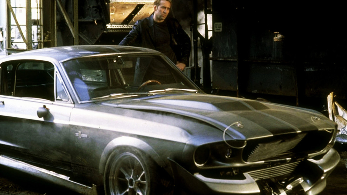Nicolas Cage in Gone in 60 Seconds.