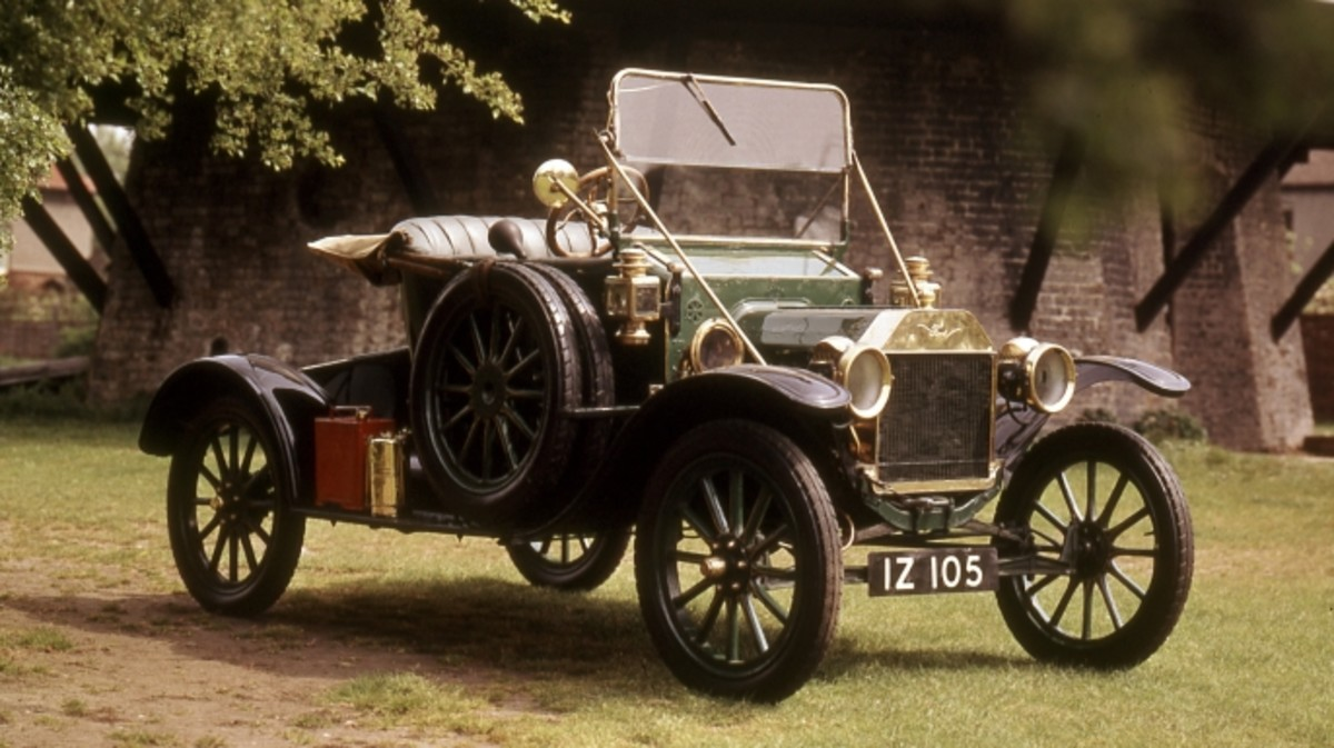 The Model T Was Introduced By Henry Ford