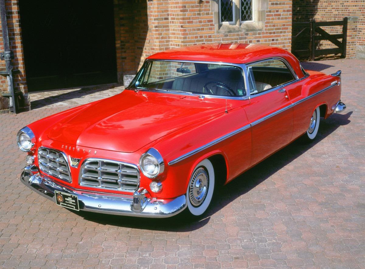 The Cars That Made America History 1950s Chrysler 1955 C300