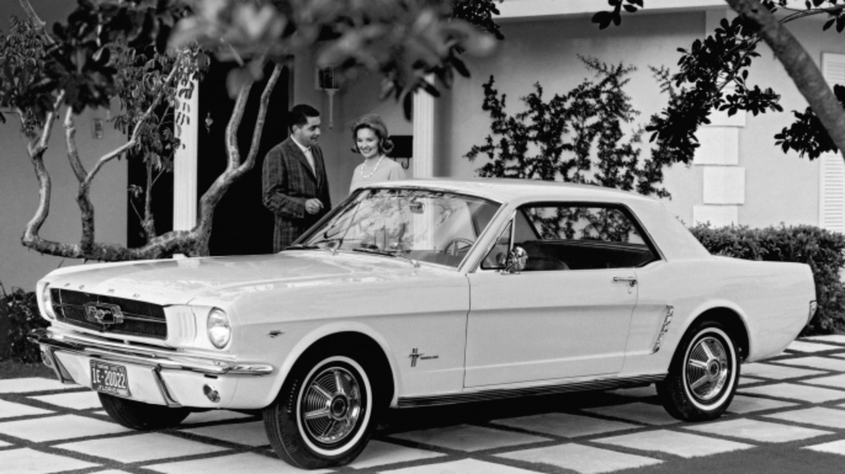 The Cars That Made America History 1965 Ford 6 And V8 Mustang Part 1 Wiring Diagram Automotive Which Was Introduced To Public On April 17 1964 At